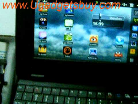 Inch Android 2.2 Netebook. V8650 Mini Laptop Notebook stable