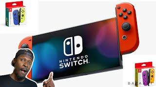 New Nintendo Switch Announced with Longer Battery Life & New Joycons (Nintendo Giving Choices)