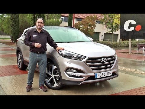 Hyundai Tucson SUV 2016 - Prueba / Análisis / Test / Review en español | coches.net