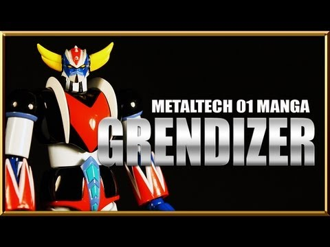 Hl Pro Metaltech 01 Ufo Grendizer Manga Repaint Edition video