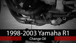 How To: Change Oil on 1998-2003 Yamaha R1