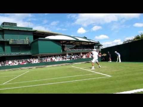 Rendy Lu Yen-hsun 盧彥勳 2011 Wimbledon day 2