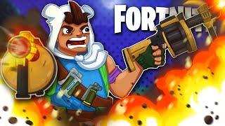 LETS PARTY!  Double Grenade Launcher!  -  Fortnite Battle Royale!