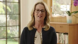 Dr. Christine Blasey Ford presents SI's Inspiration of the Year Award to Rachael Denhollander
