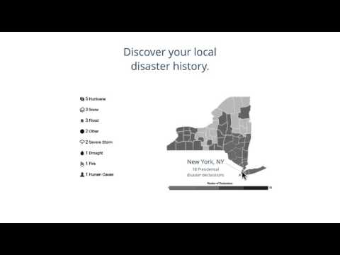 Discover your local disaster history with the Data Visualization tool