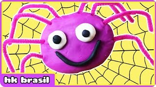 A Dona Aranha De Massinha - Play Doh Incy Wincy Spider - Massinha Play Doh