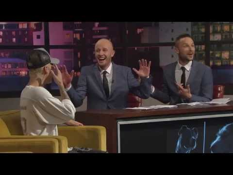 Jono and Ben chat to Justin Bieber