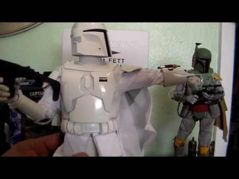 Star Wars SideShow Exclusive Boba Fett Prototype Armor Toy Review