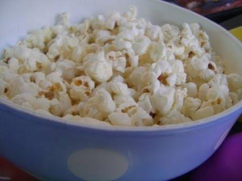 Popcorn - Hindi with English subtitles पोपकोर्न (हिंदी रेसिपे)