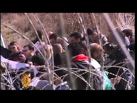 Hundreds of Palestinians join hunger strike