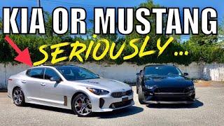 $50,000 KIA STINGER vs $50,000 Mustang GT