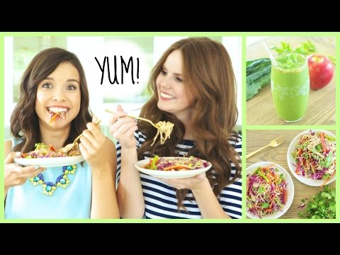 Quick & Healthy Breakfast + Lunch Ideas!