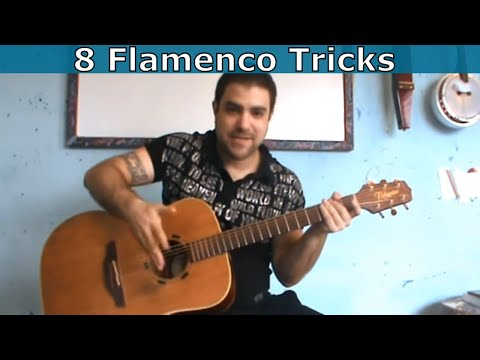 8 Flamenco & Spanish Guitar Tricks Every Guitar Player Should Know  [Tutorial] Music Videos