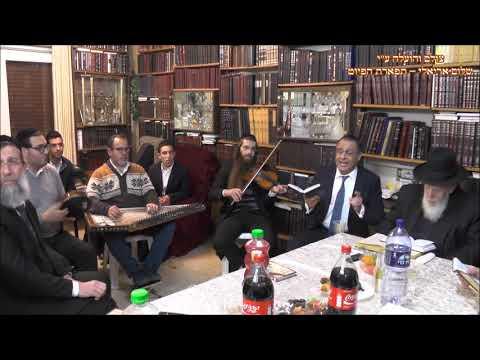 נעימה לי החזן ציון יחזקאל בביתו של נשיא מועצת חכמי התורה מרן הגר''ש כהן