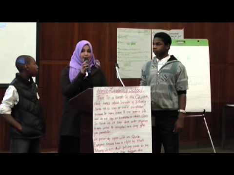 Students from Islamic Leadership School