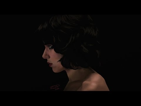 Artrage Time Lapse #15: Under The Skin (Scarlett Johansson)