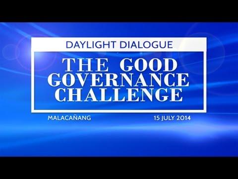 Daylight Dialogue: The Good Governance Challenge