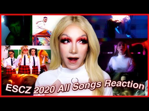 ESCZ 2020 - Czech Republic in Eurovision REACTION