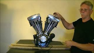 Disassembly of  Harley Davidson  Evo Motor that Locked Up
