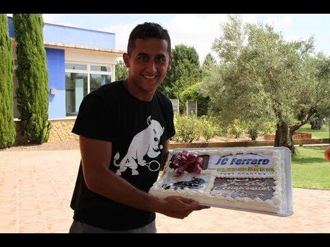 Cumpleaños de Nico Almagro en JCFerrero-Equelite