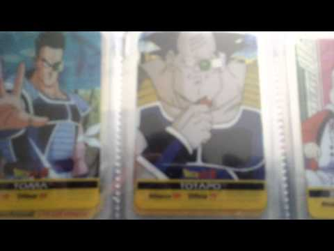 Lamincards Dragon Ball Z Serie Platino