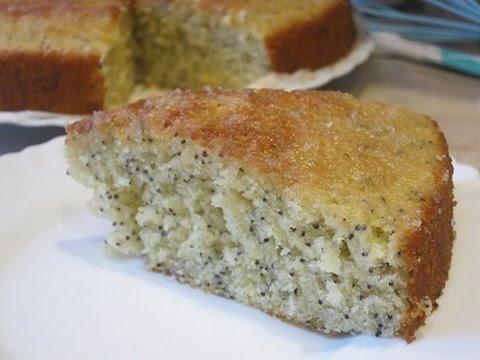 Лимонно - Маковый Кекс! Очень Вкусно И Быстро!Lemon - Poppy Cake