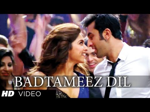 Badtameez Dil Yeh Jawaani Hai Deewani Full Song (Official) Feat. Ranbir Kapoor, Deepika Padukone