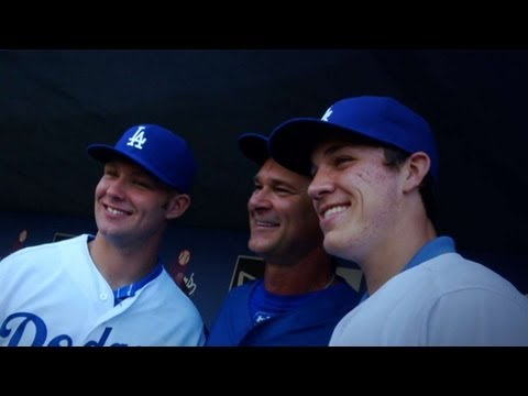 Dodgers' 2013 Draft picks take Stadium tour