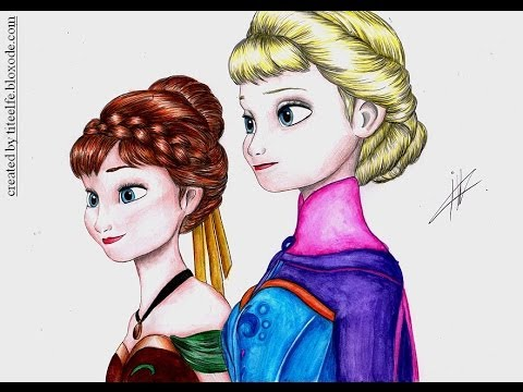 Drawing Pictures of Frozen Frozen Drawing Elsa Coronation