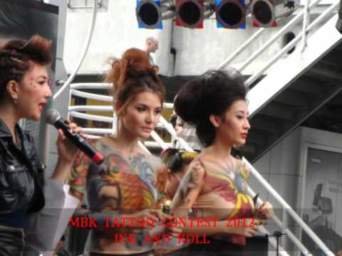 MBK  TATTOO  CONTEST  2012  INK  AND  ROLL