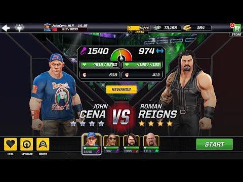 WWE Mayhem John Cena vs Roman reigns #17 thumbnail