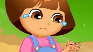 Dora Hand Doctor Caring   Dora The Explorer Baby Games   Dora Game for Children