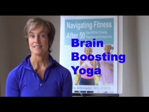 Yoga Bytes For Brain Boosting In Older Adults