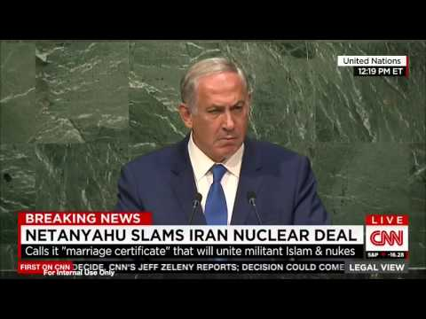 Israeli PM Benjamin Netanyahu Holds 45-Second Silence in U.N. Speech | The Blaze