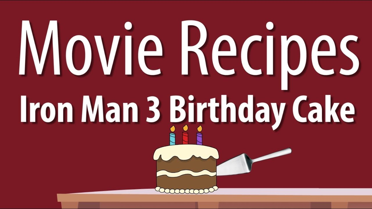 Movie Birthday Cake Recipes
