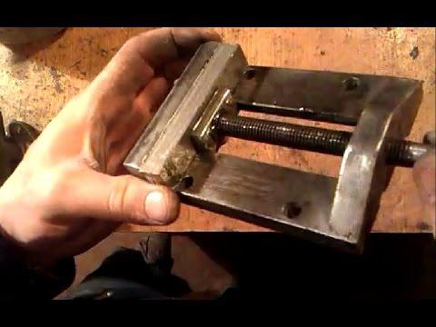 Сделать струбцину из металла своими руками
