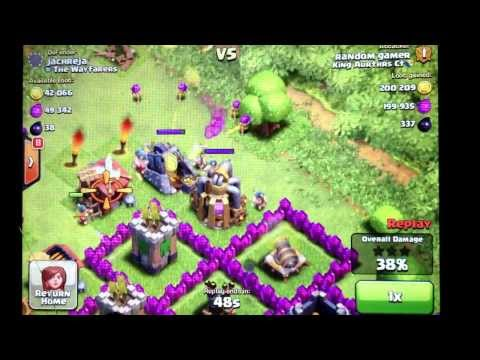 Clash of Clans 2 Epic 500k Loot Raids Live Gameplay Episode 53
