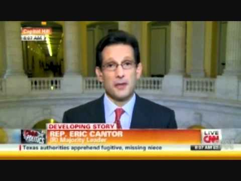 Eric Cantor Slams Trump; Defends Obama's Eligibility - 4/12/11