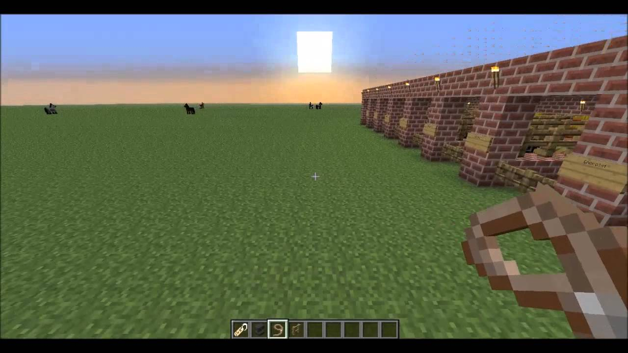 Comment nommer son cheval dans minecraft youtube - Cheval minecraft ...