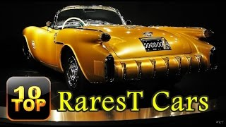 Top 10 Rarest Cars You've Probably Never Heard Of