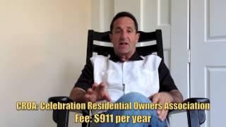Celebration, Florida Homeowner's Association Fees   Real Estate Information