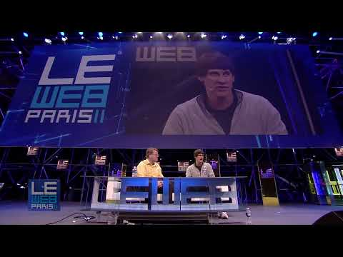 LeWeb 2011 Dennis Crowley, Co-Founder & CEO, Foursquare and Robert Scoble, Rackspace