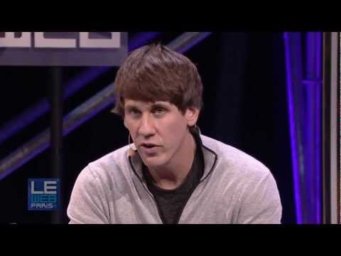 LeWeb 2011 Dennis Crowley, Co-Founder & CEO, Foursquare and Robert Scoble, Rackspace