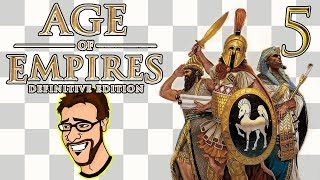 Age of Empires DE Glory of Greece   Is This Sparta? EP5