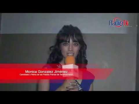 Candidatas a Reina de las Fiestas Patrias de Tecamachalco