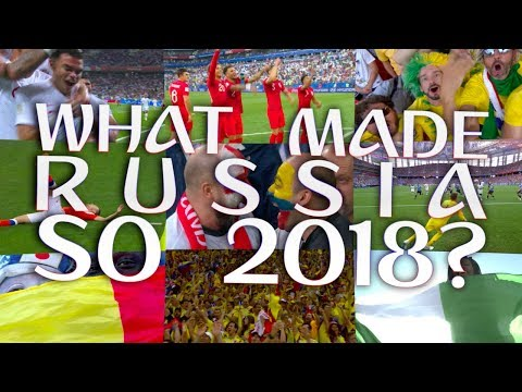 What made Russia so 2018?