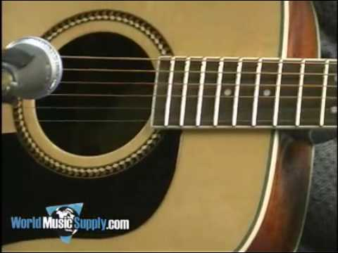 Review of the washburn d10sce deluxe electro-acoustic guitar