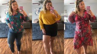 REVIEWING LOFT PLUS SIZES + TRY ON HAUL