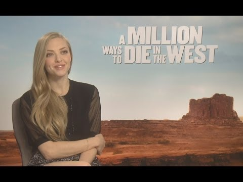 Amanda Seyfried Interview - A Million Ways to Die in the West