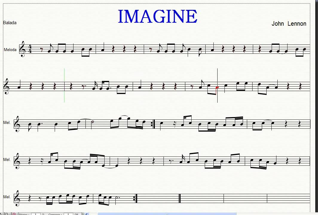Partitura imagine
